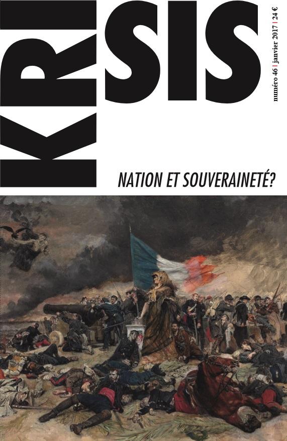 Revue Krisis : Nation et souveraineté ?