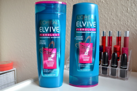 L'oreal Elivive Fibrology Thickening Haircare Range