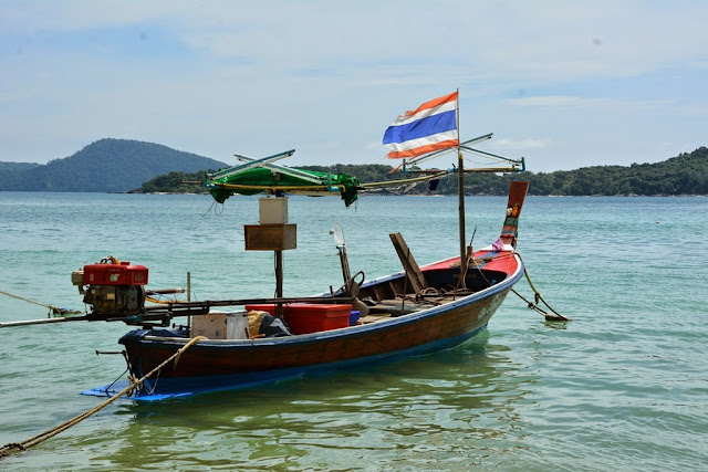 Rawai Beach Phuket fisher boat