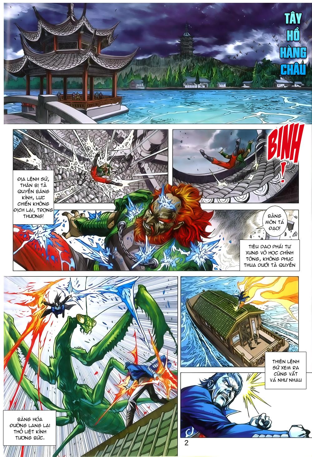 Tân Tác Long Hổ Môn chap 802 Trang 2 - Mangak.info
