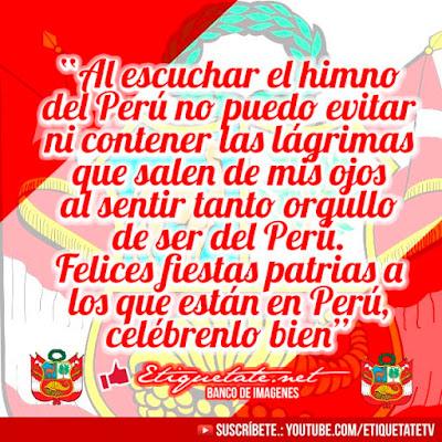 imagenes de felices fiestas patrias peru
