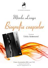 """Lansare """"Biografia coapselor"""" - vineri, 4 noiembrie, orele 17,30 la Avant-Garde (IASI)"""
