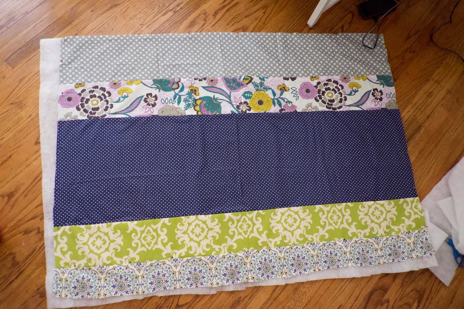 Domestic Fashionista: Scrap Fabric Striped Baby Quilt : inexpensive quilting fabric - Adamdwight.com