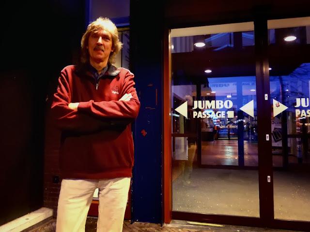 Klaus Hoffmann-Hoock à Oirschot, E-Live 2013 / photo S. Mazars