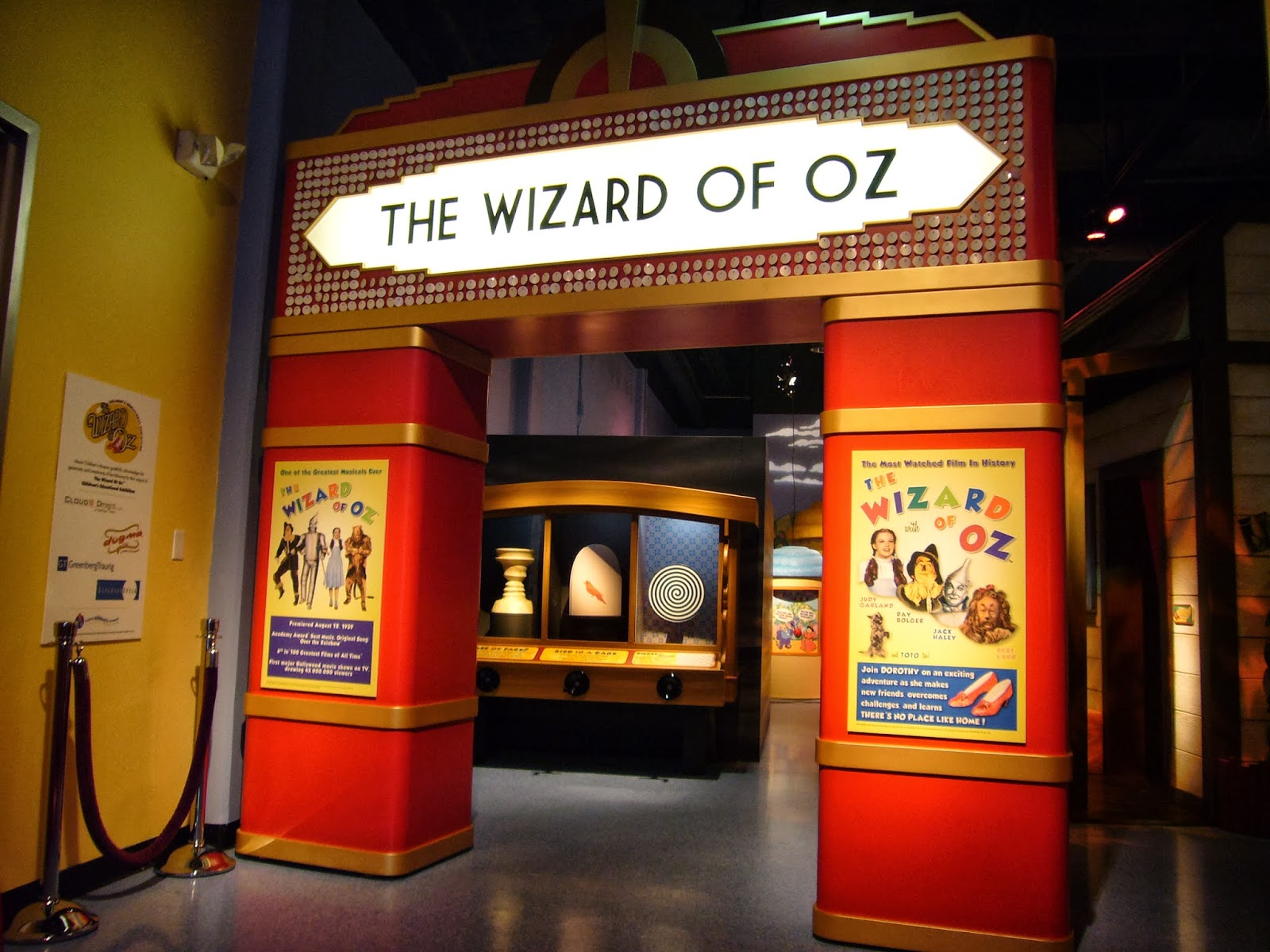 Wizard Of Oz Educational Exhibition At Delaware Children S