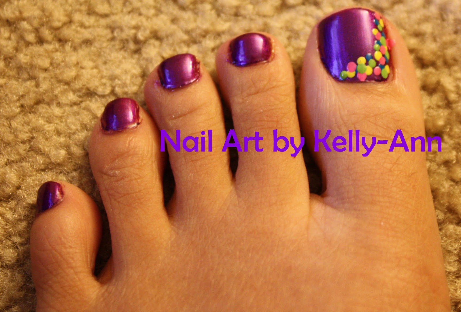 Nail Art by Kelly-Ann: Spring Toes | Nails Ideas