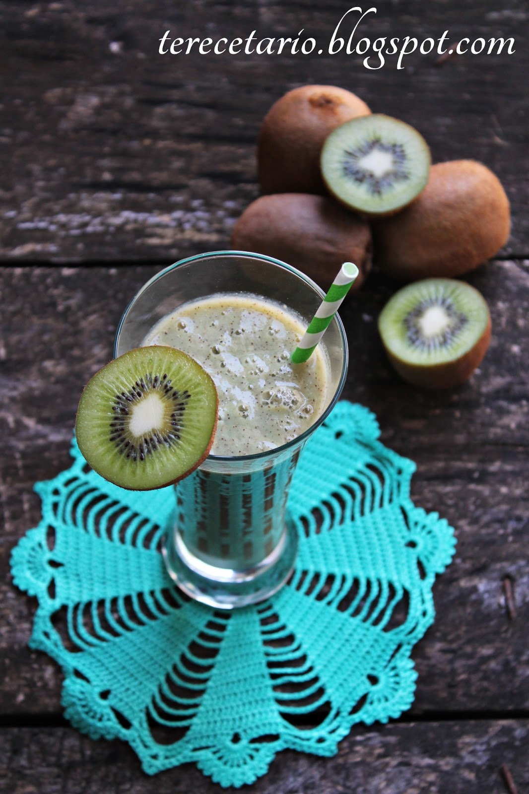 Terecetario batido de kiwi - Batidos de kiwi ...