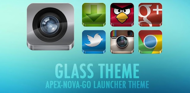GLASS APEX/NOVA/GO THEME v3.6 APK