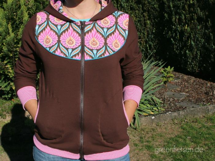 Sweatshirt-Jacke Lady Bella von mialuna