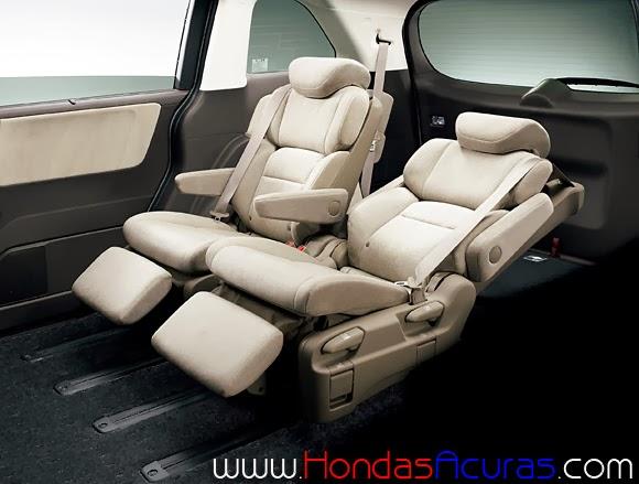 Luxury minivan 7 autos post for Honda odyssey seating