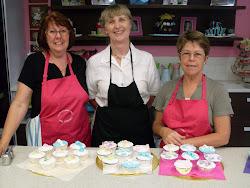 Beginners 1 Baking Cupcake Class.