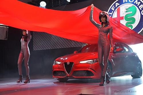 Alfa Giulia QV Debut at LA Auto Show