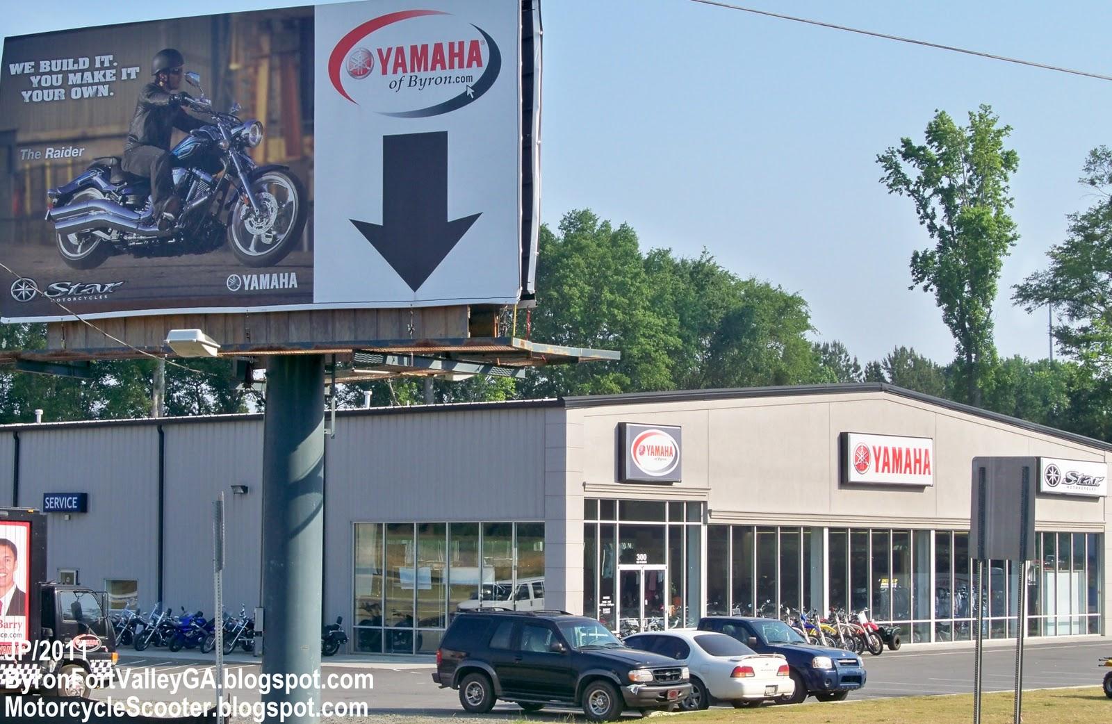 Byron georgia yamaha of byron motorcycle atv utility for Yamaha dealers in mass