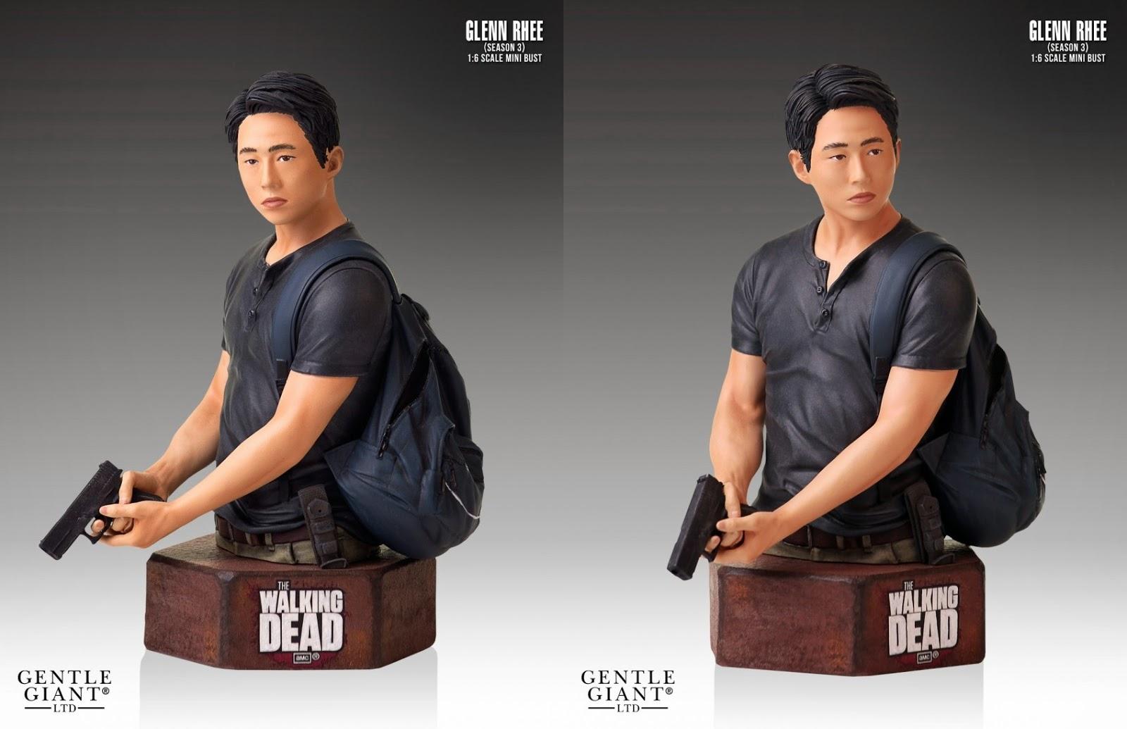 The Walking Dead TV Series Glenn Mini Bust (Gentle Giant)