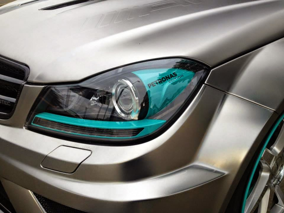 Mercedes C63 Amg T Model Black Series Petronas F1 Edition