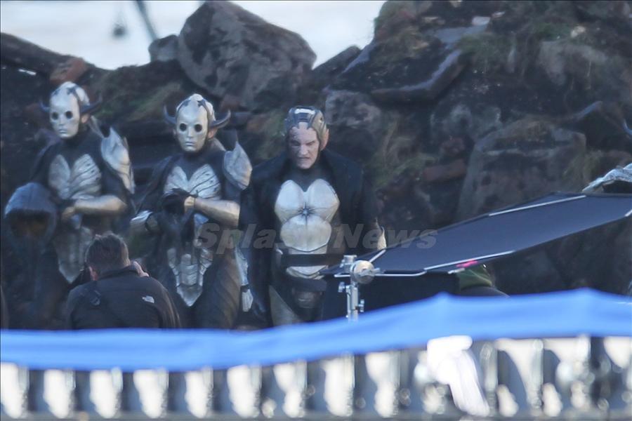 Christopher Eccleston como Malekith en Thor: The Dark World