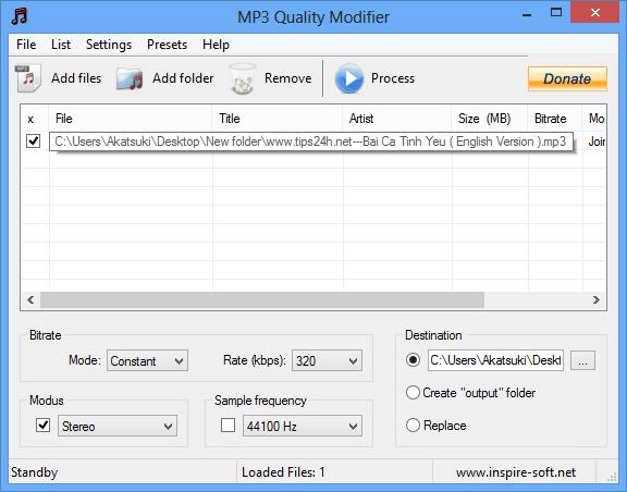 Cách làm tăng chất lượng file mp3