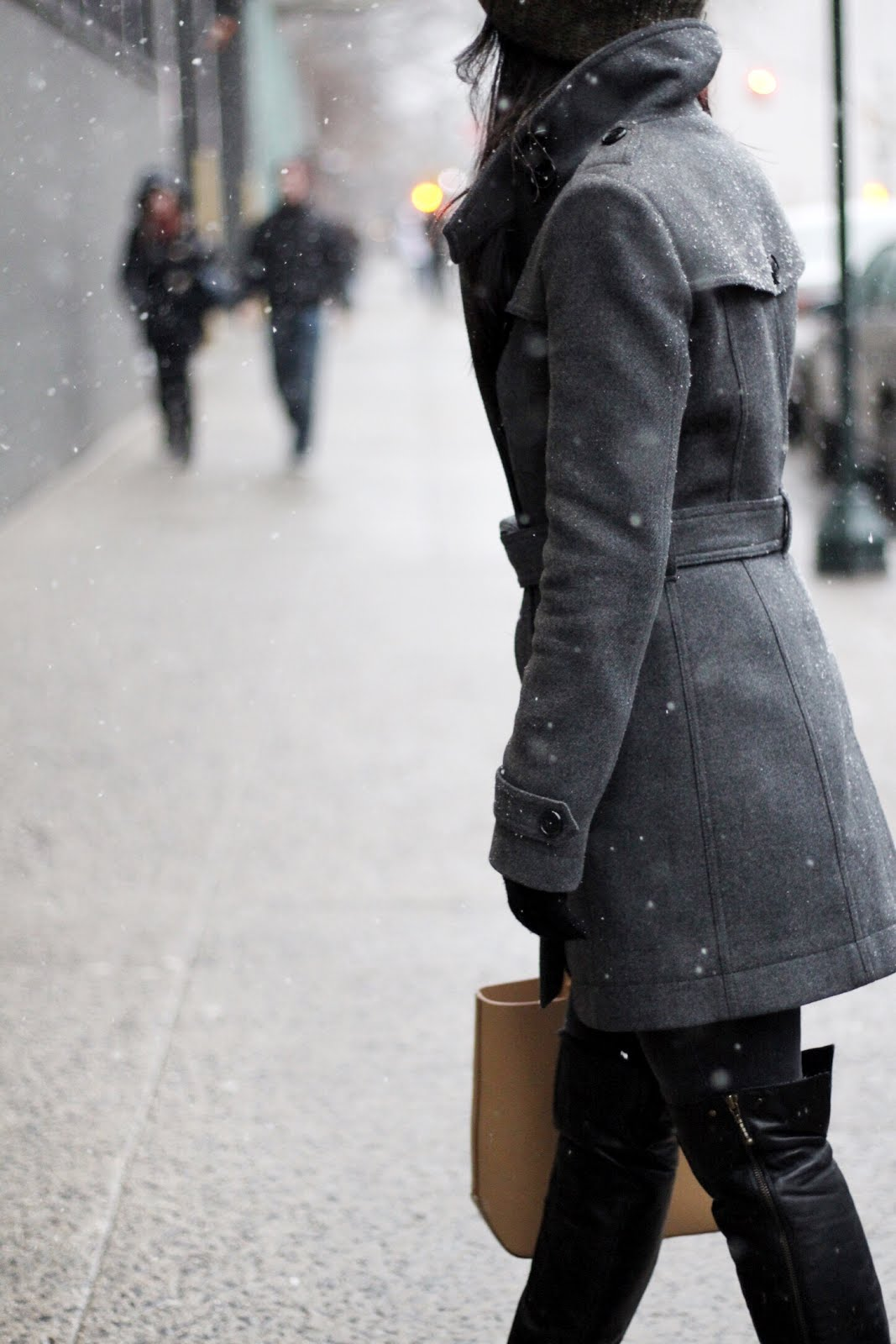 Burberry coat Aldo OTK boots
