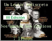 """III reto """"Nos gustan los Clásicos"""" del blog """"Un lector indiscreto""""."""