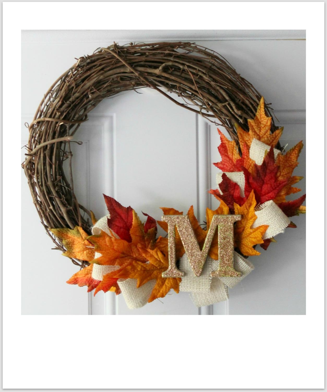 Blooming Autumn Wood Chip Twig Wreath - JoAnn Jo-Ann