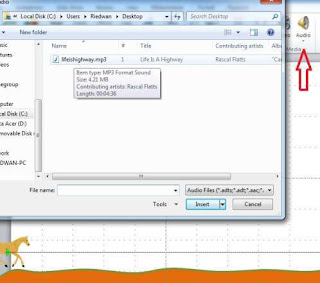 Add Audio File On PowerPoint