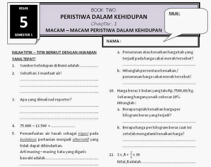 Download Soal Kelas 5 Sd Tema 2 Subtema 1 Rief Awa Blog Download Kumpulan Soal Ujian Sd