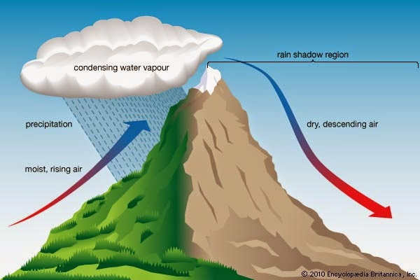 Hawaiinilvi Air Masses Global Winds And Types Of Rain: the windward