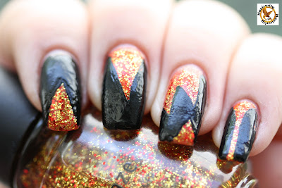 Hunger Games District 5 mani