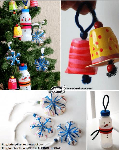 Cómo Decorar en Navidad sin Gastar Mucho Dinero DIY by artesydisenos.blogspot.com