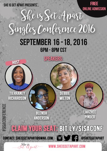 SISA Singles Conference 2016