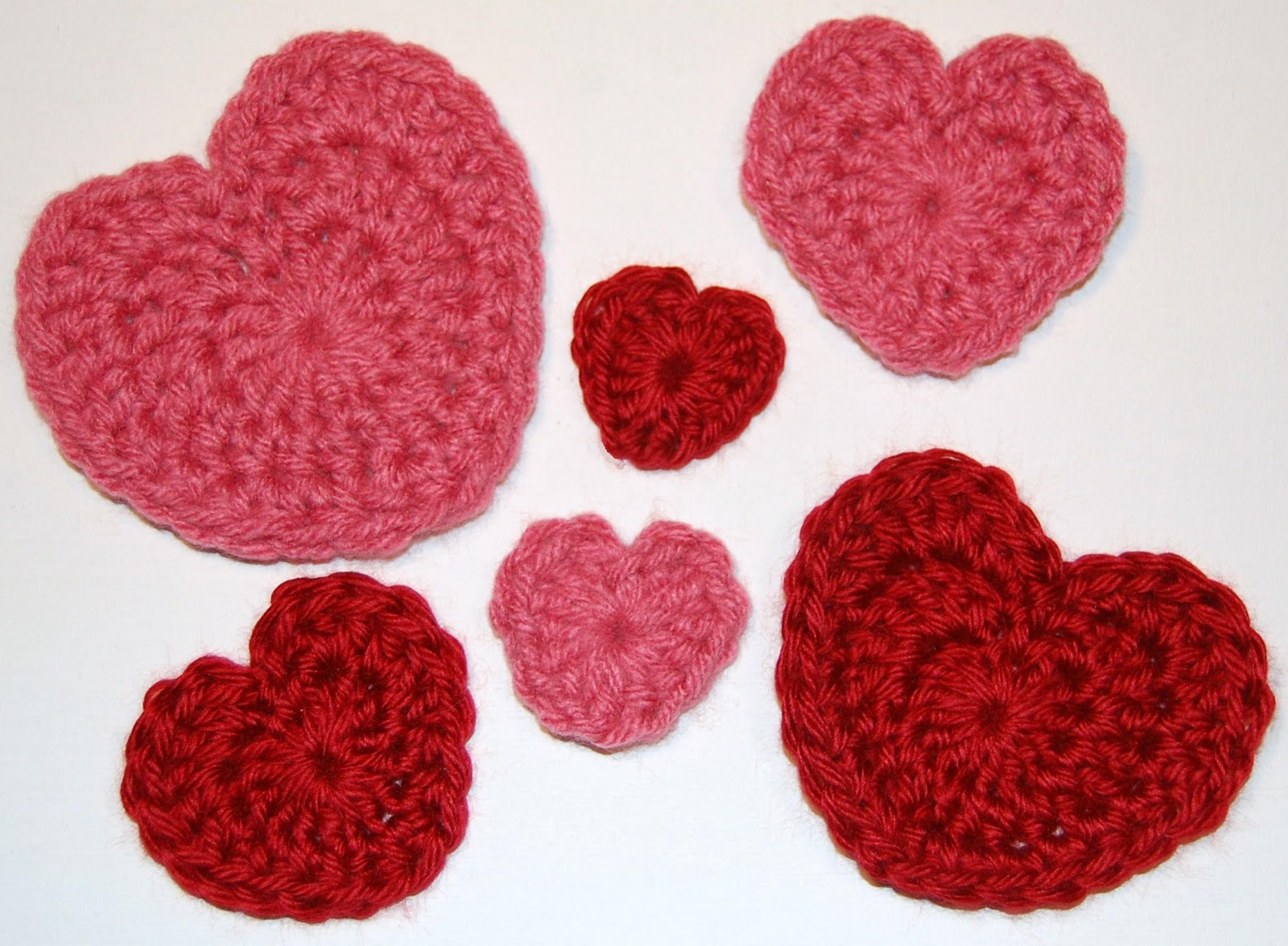 Big Heart Knitting Pattern : Valentines Day Heart Crochet Patterns - Petals to Picots