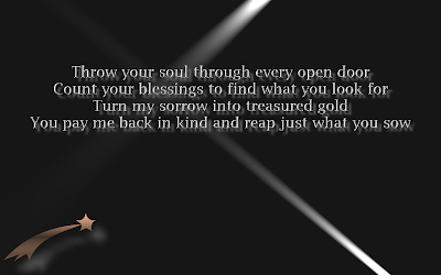 Rolling In The Deep - Adele Song Lyric Quote in Text Image