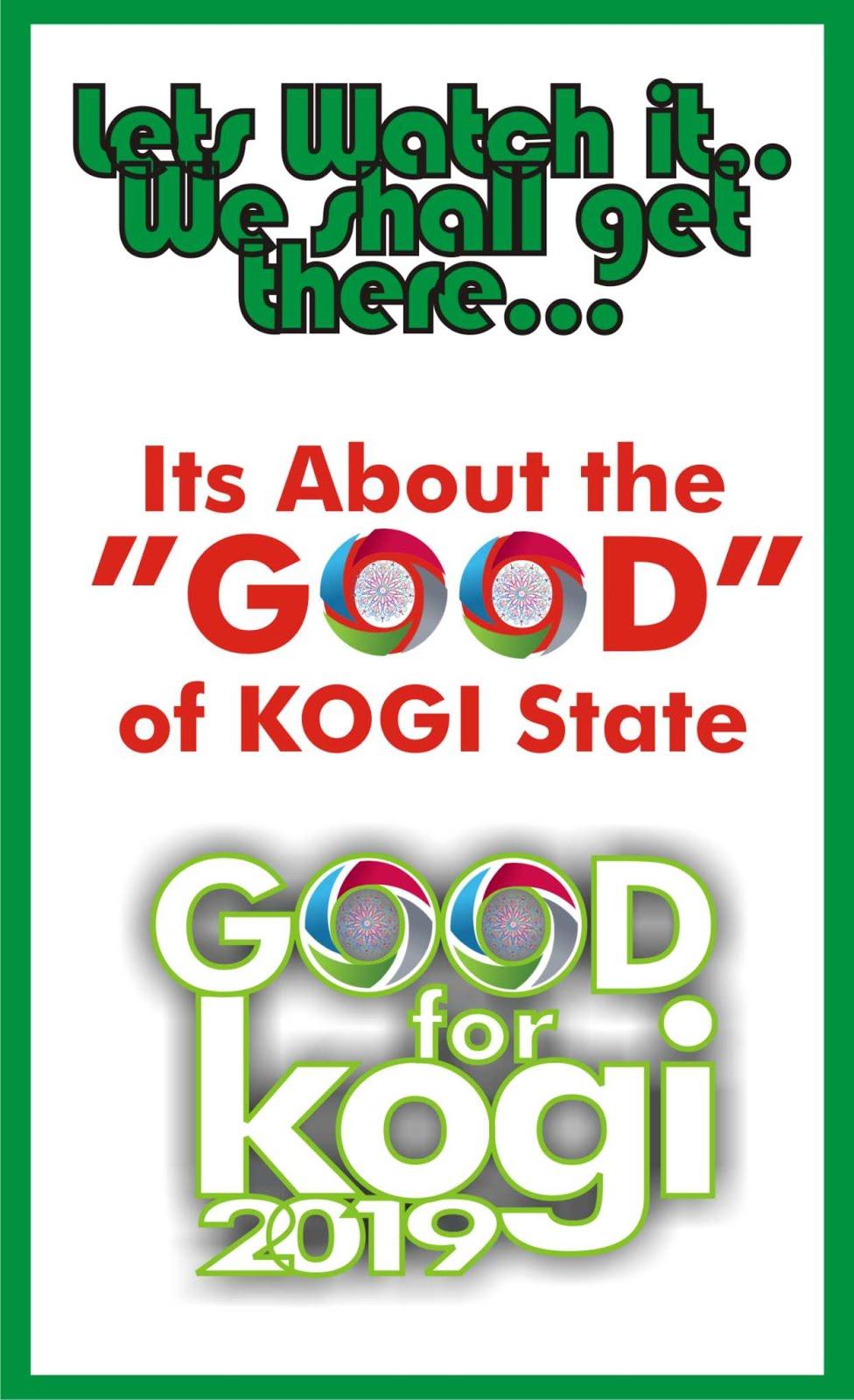 THE GOOD OF KOGI STATE
