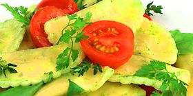 Ensalada de raviolis