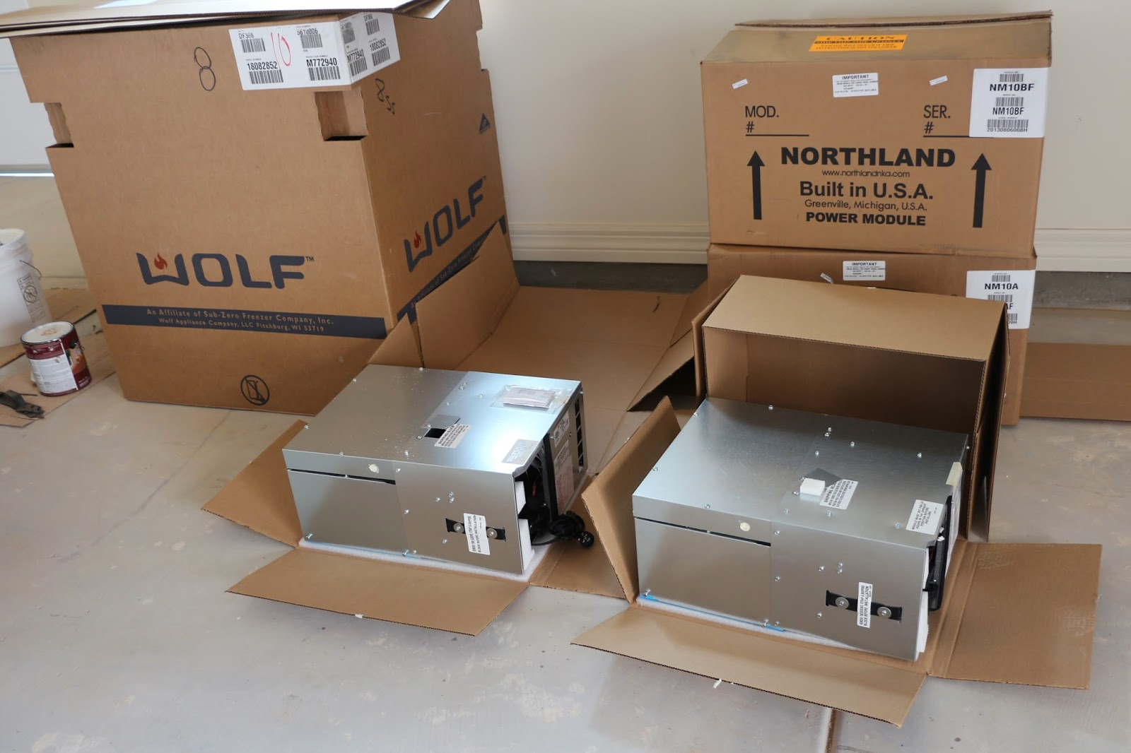 compressors from marvel and northland, shipping northland and marvel compressors separately from refrigerator unit