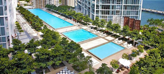 Aluguel de apartamentos - Viceroy Miami Piscina