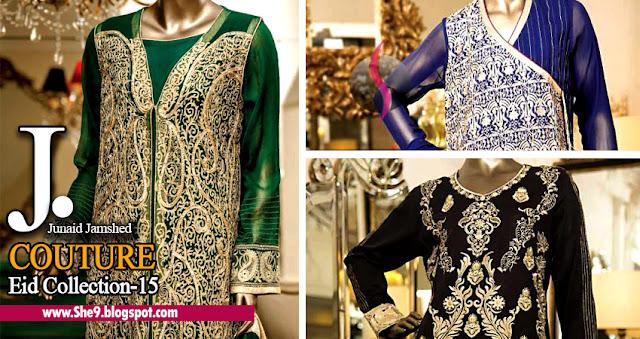Junaid Jamshed Premium Couture Chiffon