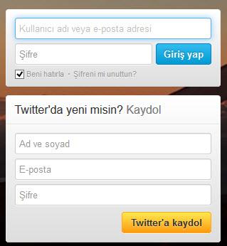 Twitter Şifre Kırma