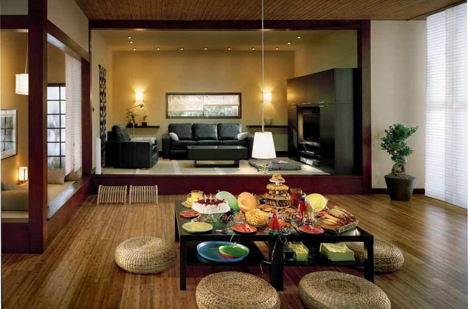 desain interior gaya asia