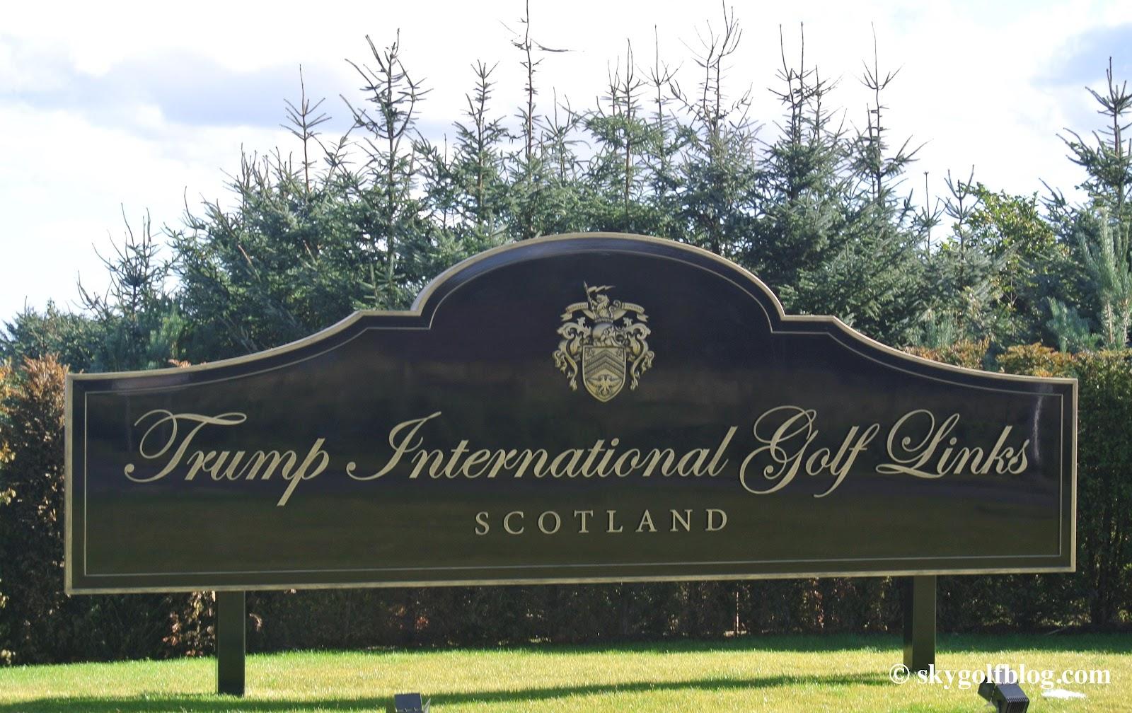 SkyGolf Blog... Golf Courses Around the World: Trump ...