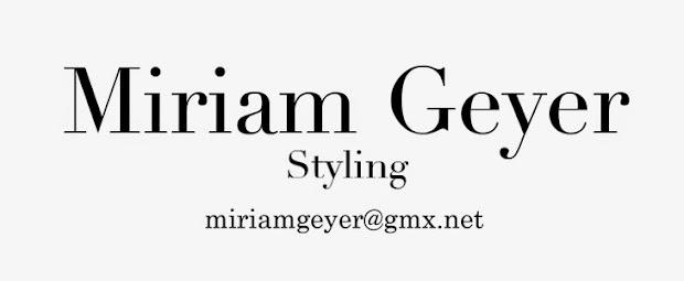 Miriam Geyer Stylist