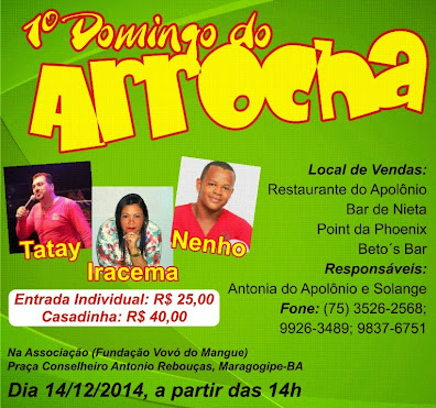 1º Domingo do Arrocha