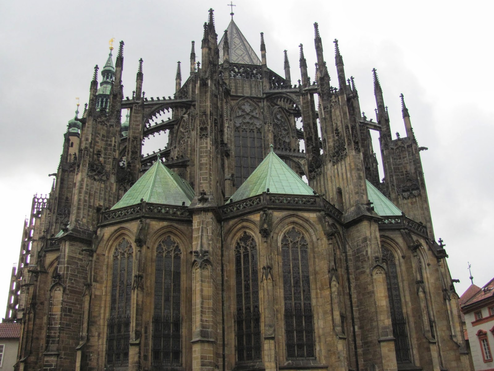 St. Vitus' Cathedral Buttresses