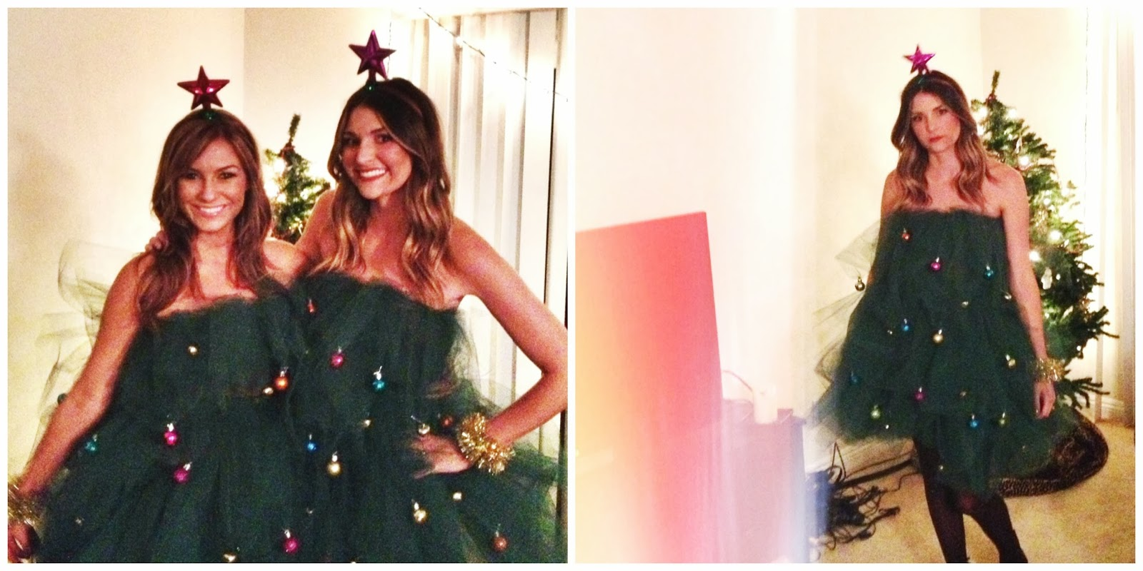 DIY Christmas Tree Costume - Sloppy Elegance