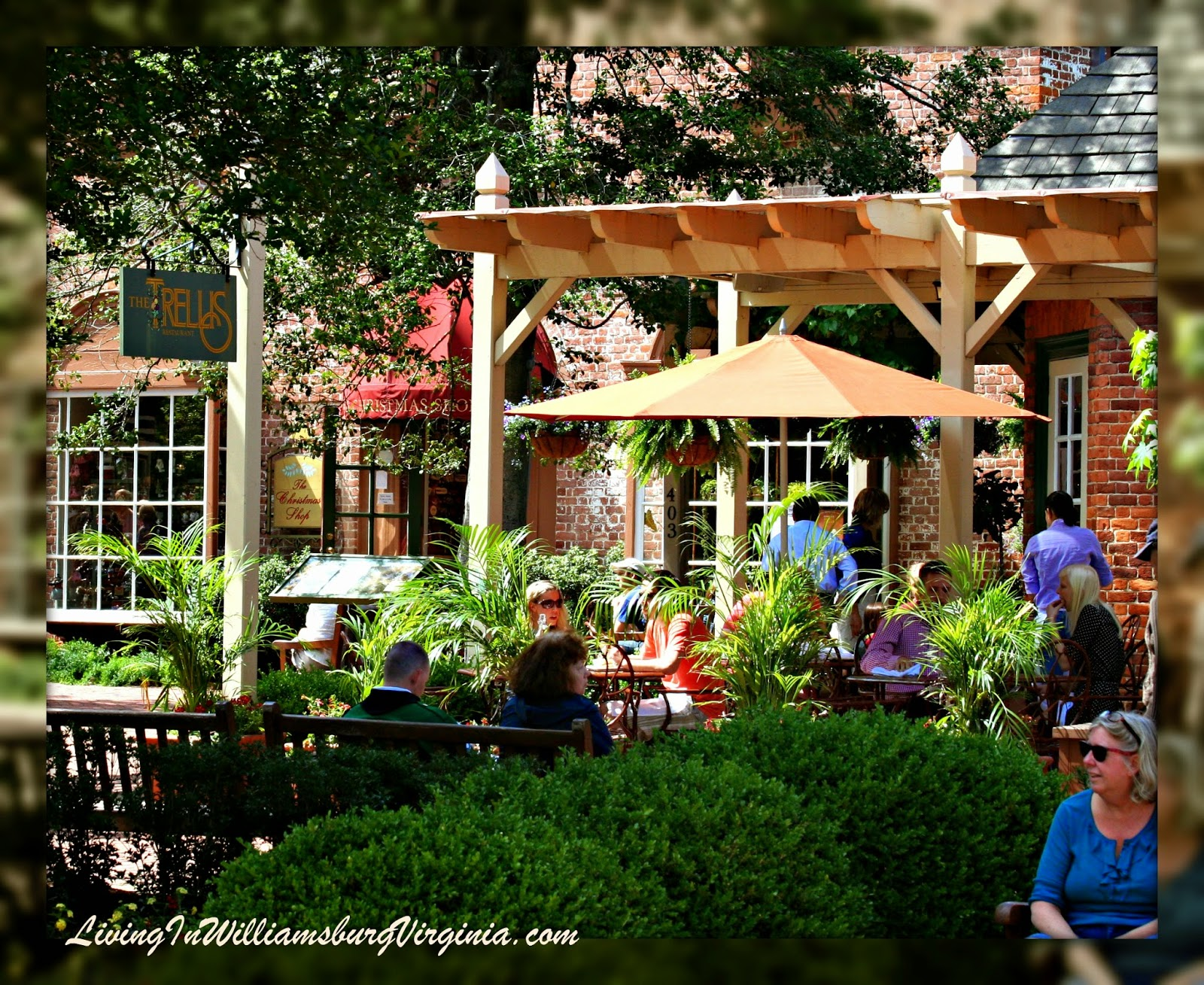 Restaurant Merchants Square Williamsburg Virginia Living In By Chocolate At The Trellis