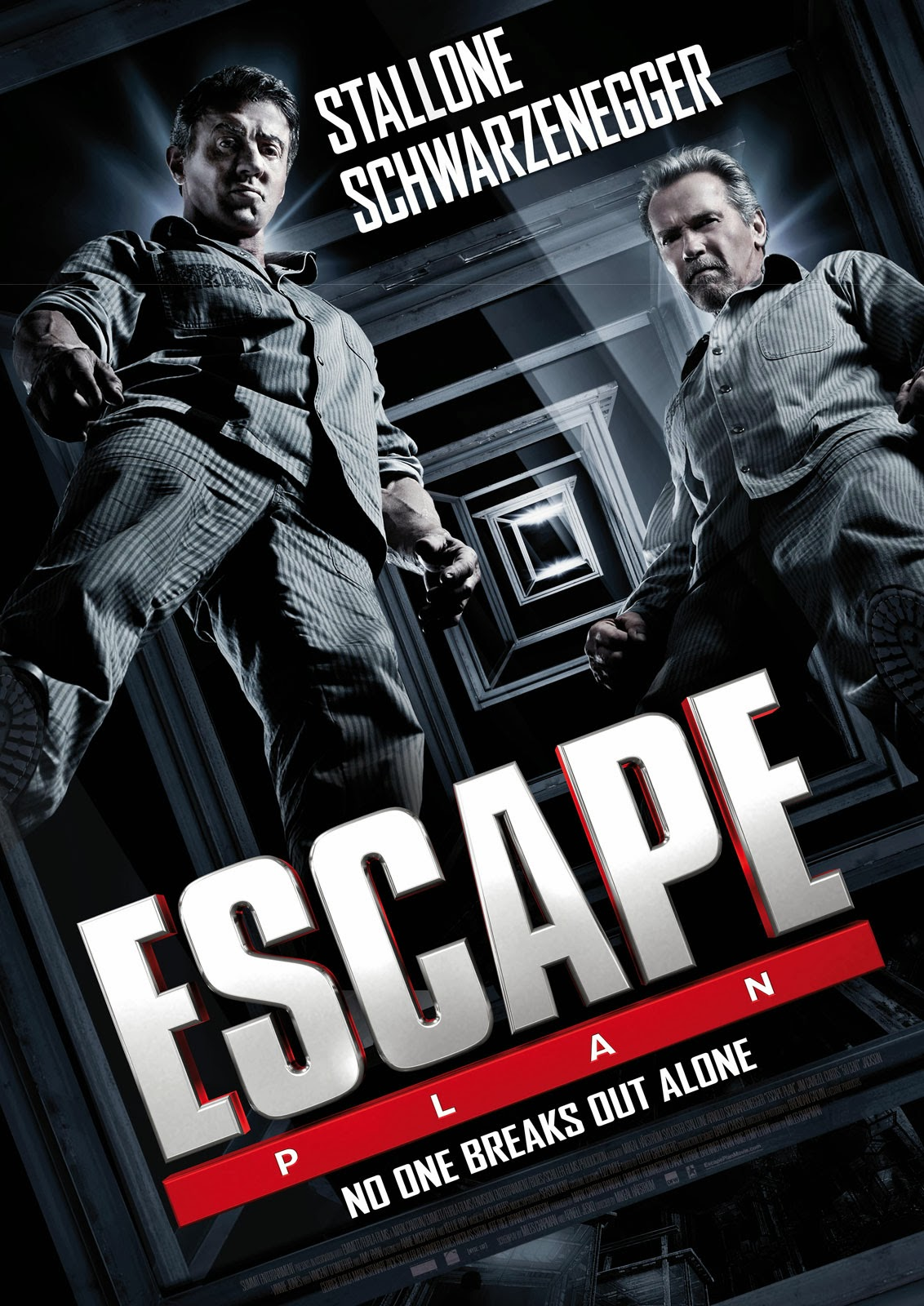 escape plan movie poster teaser trailer