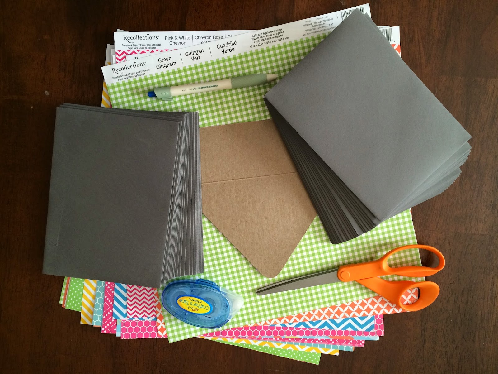 Doeblerghini Bunch:  Envelope Liner - Supplies
