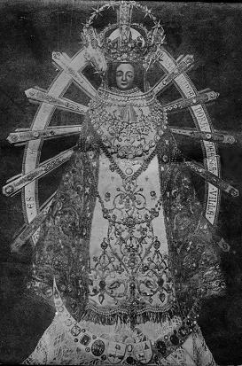 VIRGEN DE LUJÁN  PATRONA DE LA REPÚBLICA ARGENTINA. Fiesta 08 de Mayo