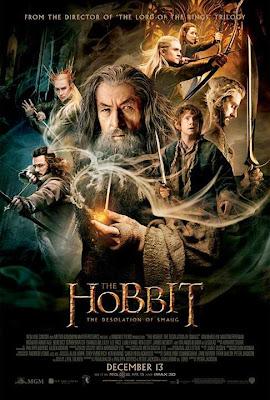 Póster El Hobbit La desolación de Smaug peter jackson tolkien