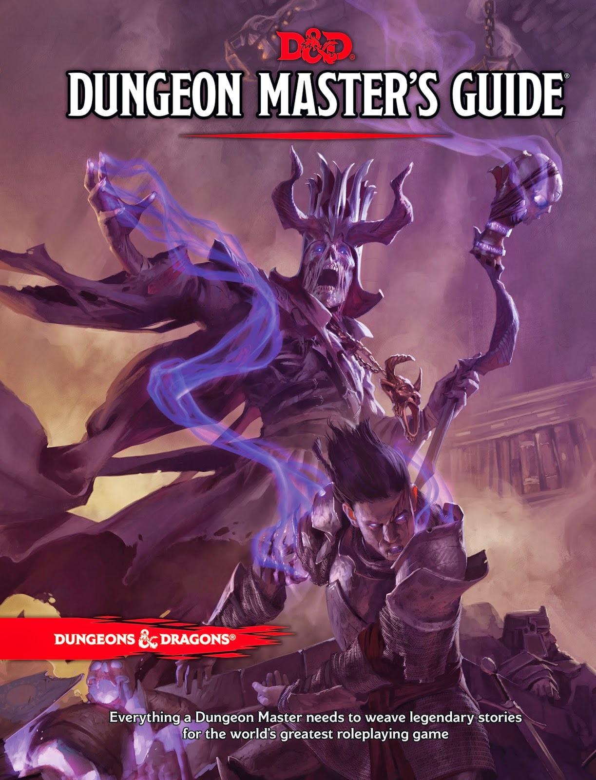 Cover of the 5th edition Dungeons & Dragons Dungeon Master's Guide